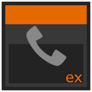 ExDialer theme 5.0 inverted