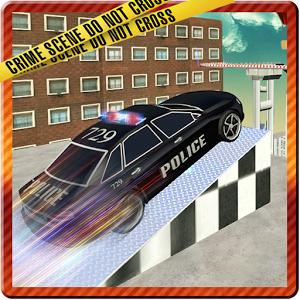 Crazy Police Car Roof Stunts