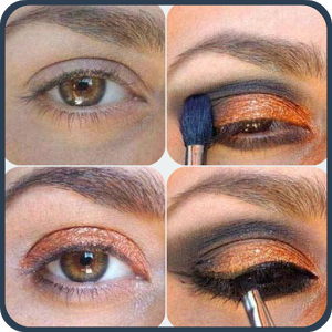 Easy Eye Makeup Step by Step step
