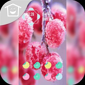 Winter cherry red theme