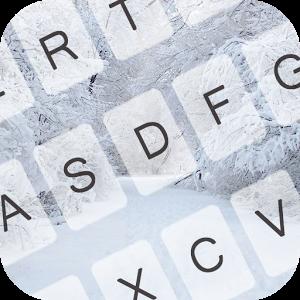 Snowy Theme for Emoji Keyboard