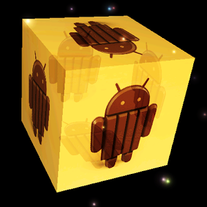 3D Android KitKat LWP android information kitkat