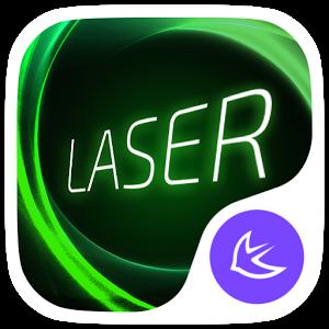 Laser theme for APUS Launcher