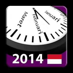 Indonesia 2014 Kalender adFree