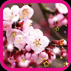 Pink Flowers live wallpaper