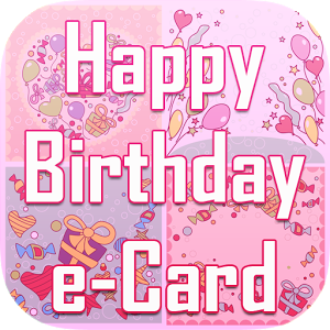 Happy Birthday e-Card Stickers happy sticker stickers