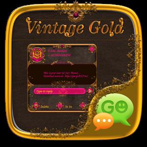 Vintage Gold Go SMS