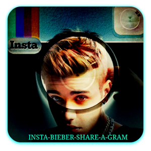 Insta Bieber Share A Gram effects insta share