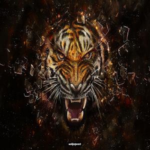 Rare Steampunk Tiger