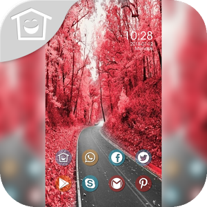 Red woods theme