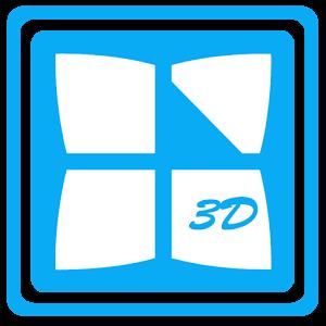 Next Launcher 3D Theme Edge