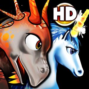 Pep the dragon & unicorn HD