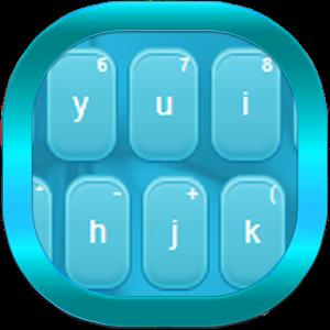Keyboard Theme Blue