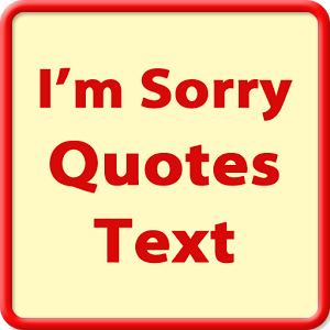 Sorry Quotes Message