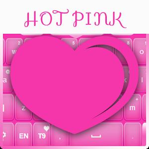 Keyboard Hot Pink