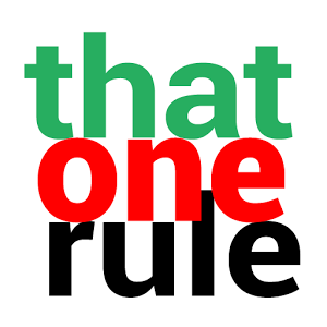 That One Rule
