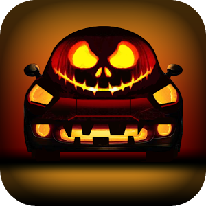 Halloween Car Race 3D Free