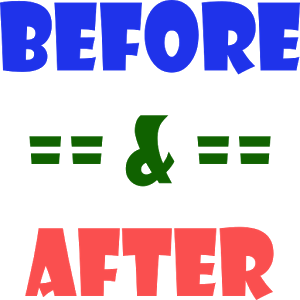 Simple Before & After simple