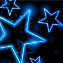Glowing Neon Stars HD LWP