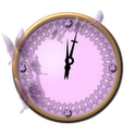 Crystal Analog Clock Widget