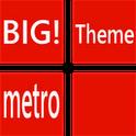 BIG! caller ID Theme MetroRed