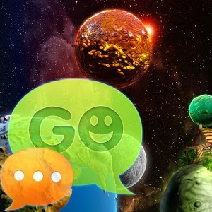 GO SMS Theme Cosmos Buy
