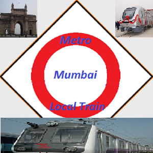 Mumbai Metro + Local Train metro mumbai train