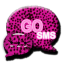 GOsms Theme>Pink Cheetah theme theme