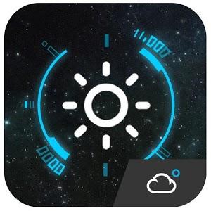 Animated Clock Weather Widget