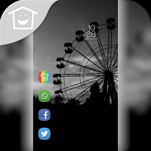 Simple dark theme Ferris wheel