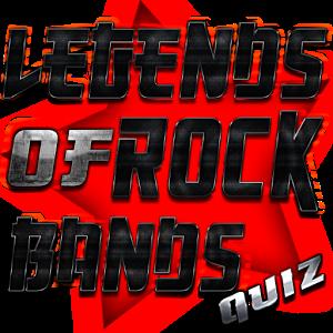 Legends of Rock Bands Quiz