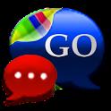GO SMS Royal Crimson Cobalt
