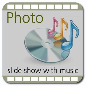 Photo Slide Show with Music photo slide widget