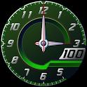 Clock Battery Lambo Green Free
