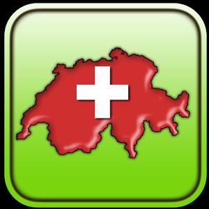 Map of Switzerland switzerland