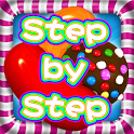 Candy Crush Step by Step doa qibla step