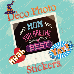 Déco Photo Stickers happy photo stickers