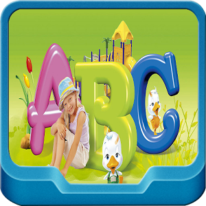 Baby learning ABC