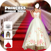 Princess Fashion Dress Montage : Photo Editor