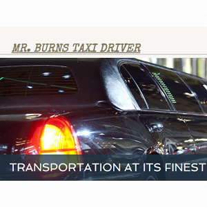 Mr. Burns Taxi Driver