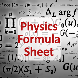 2158 i physics formula sheet