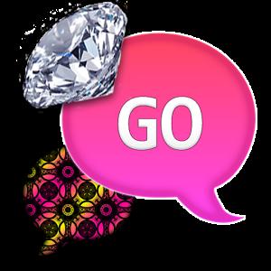 GO SMS|DiamondBrightPattern sms