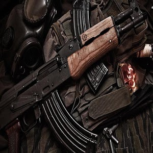 Military war weapons: rifles