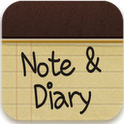 Note&Diary Go launcher theme
