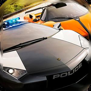 Police car Hot Pursuit Race