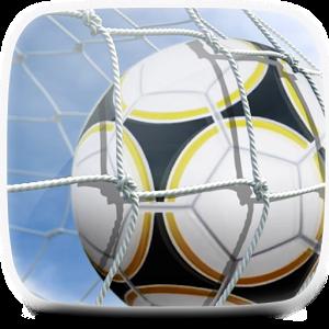 Ball in Goal Live Wallpaper