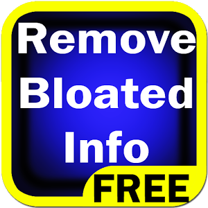 Remove Bloated Info