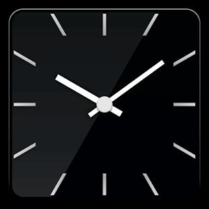 Square glass clock -Me Clock
