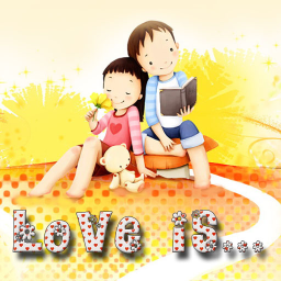 Love is...Go Launcher EX theme