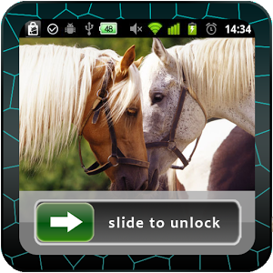 Horses Lock Screen photo